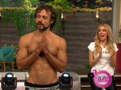 Sexy Yoga Thong TV Show