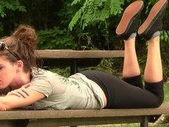 Amy black Vans pose PREVIEW