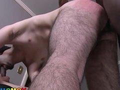 Ace London Takes Two Big Black Cocks