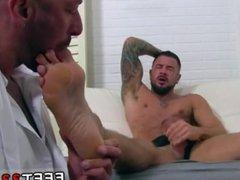 Teen boys showing their bare feet gay His