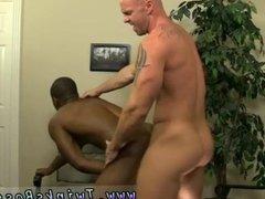 Buff black men fucking gay Mitch Vaughn
