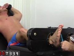 See a man put a foot in his butt free gay