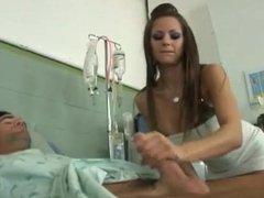 Rachel Roxxx doctor fucks patient in coma