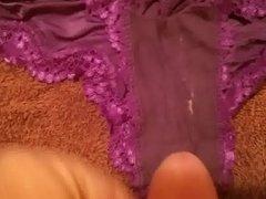 Cum in buddy's wife dirty panties