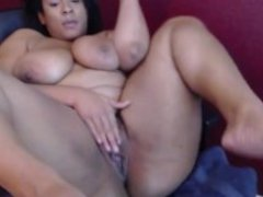 Hot ebony Caramel Kitten with a big twerking black booty and big boobs