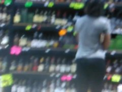 Candid ass at the liquor store part 1
