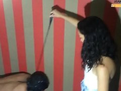 Hard Humiliation Trampling and Toilet Slave Spanking