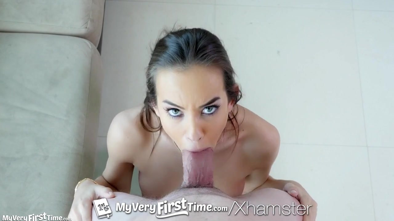 MY VERY FIRST TIME Brunette Charity Crawford fucked on film