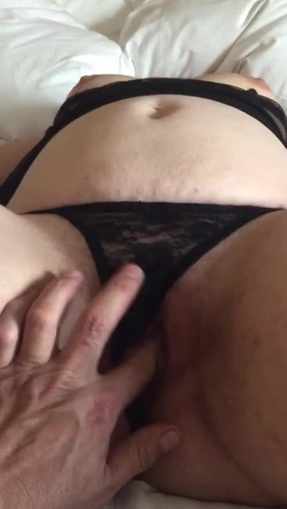 BBW slut pet-Pulling the panties up my naughty slut's slit!