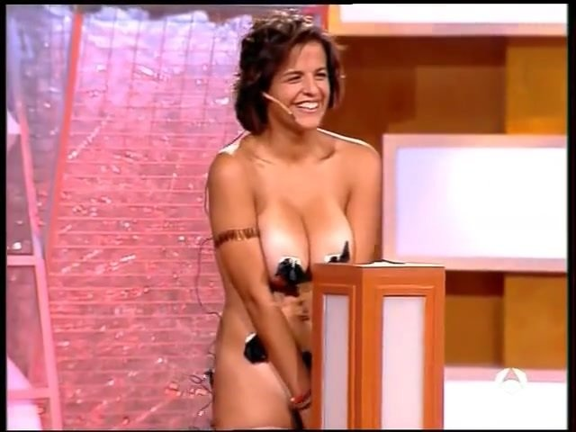 Naked girl in a spanish TV show