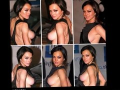 Clothed Unclothed Celebrities Compilation