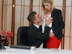 Private.com - Aria Logan Sucks Her Boss's Hard Cock