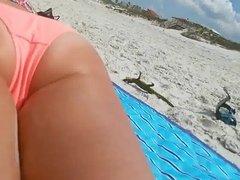 Latina beach Ass and Feet Part 3