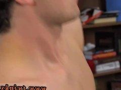 Gay men shooting cum on other gay man JT