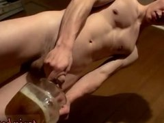 Young twinks pissing themselves and men