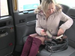 Fake Taxi Sexy arse MILF in knee high boots