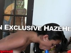 Real les teens toyed in pussy during hazing