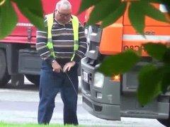 trucker dad piss