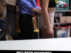 Blair Williams Caught Shoplifitng And Punished