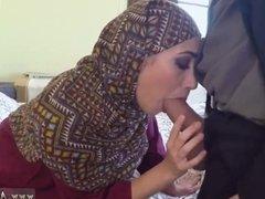 Handjob eat own cum When Arab doll have