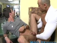 Rubbing cocks together in public and gay