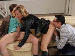 Kinky MILF wants a Threesome