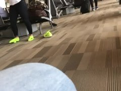 Ankle Socks at the Airport