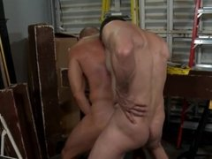 MenOver30 Construction Daddy Injects his Thick Cock