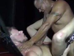 Muscular gay orgy