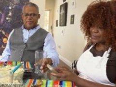 Ebony ayana angel and ebony wand and bbw blowjob compilation and ebony