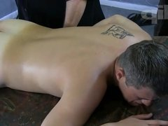 Brown eyed cutie indulges in a Rub and a Tug