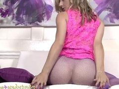 Sophie strips and teases once more
