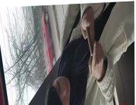 spy face woman in bus romanian