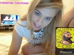 My sexy cam show 199- My Snapchat WetBaby94