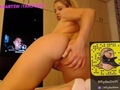 My nude webcam show 169- My Snapchat