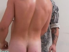 Spooning gay couple Extra Training for the