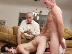 Mom friends daughter old man and old guy dp