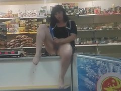Masturbating In The Store