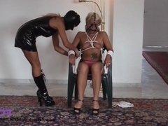 Fetisch-Concept com: - Bondage date for 2 girls with nipple torture -