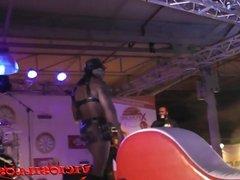 Julia de Lucia y Max Rajoy follando en FEDA 2014