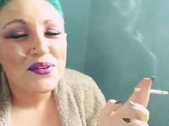 Smoking Fetish Sexy Joker