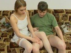 Leg worship ang leg humping