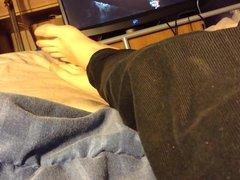 Feet in bed relaxing (FootFetish)