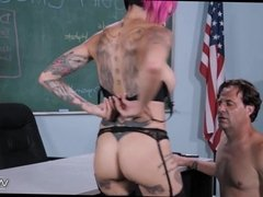 Janitor gets Pussy at School