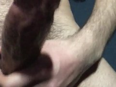 Stroking My Hard Cock For Your Wives and Moms