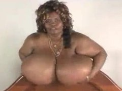 Norma Stitz - Giant Boobs bigger then the Woman