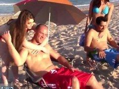 Hot boobs fuck teen first time Beach Bait