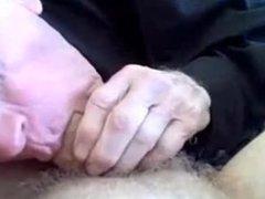 Old grandpa sucking a dick