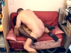 Mature perv fucks sexy African hottie
