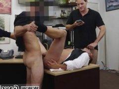 Straight black men take big dick first time